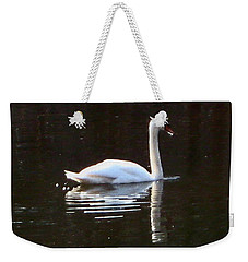 Weekender Tote Bag featuring the photograph Perfect Grace by Judith Morris