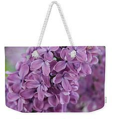 Perfect Lilac Weekender Tote Bag
