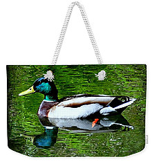 Perfect Reflection Weekender Tote Bag by Nick Kloepping