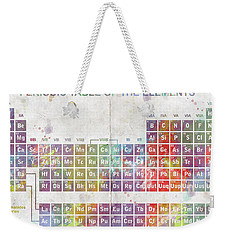 Periodic Table Of The Elements Weekender Tote Bag