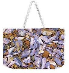 Periwinkles Muscles And Clams Weekender Tote Bag