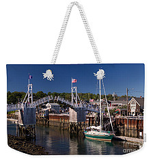 Perkins Cove Ogunquit Maine Weekender Tote Bag