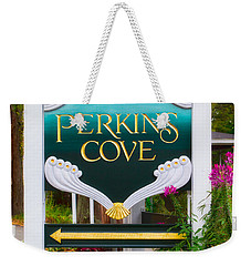 Perkins Cove Sign Weekender Tote Bag