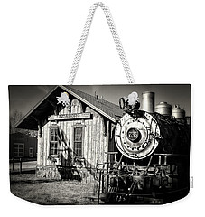 Weekender Tote Bag featuring the photograph Permanent Stop by Ben Shields