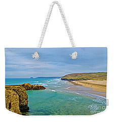 Perranporth Beach Weekender Tote Bag