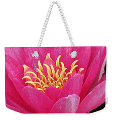 Perry's Fire Opal Water Lily Weekender Tote Bag
