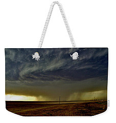 Perryton Supercell Weekender Tote Bag by Ed Sweeney