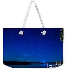 Perseid Meteor Weekender Tote Bag