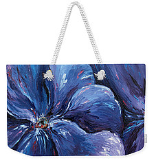 Weekender Tote Bag featuring the painting Persevering Hope by Meaghan Troup