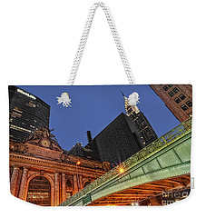 Pershing Square Weekender Tote Bag by Susan Candelario