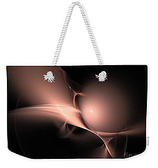 Persistent Thoughts / Pink Pearls In The Dark  Weekender Tote Bag