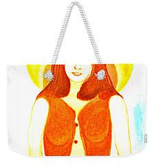 Personas 1 Weekender Tote Bag by Lorna Maza