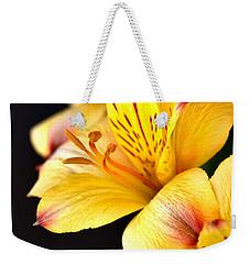 Peruvian Lily Weekender Tote Bag