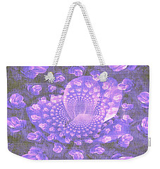 Petals Down The Rabbit Whole Weekender Tote Bag