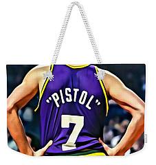Pete Maravich Weekender Tote Bag