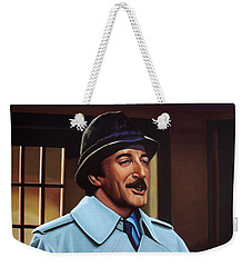 Peter Sellers As Inspector Clouseau  Weekender Tote Bag by Paul Meijering