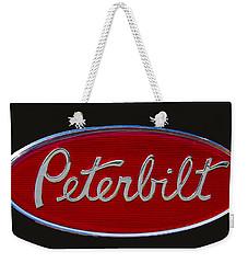 Peterbilt Semi Truck Emblem Weekender Tote Bag