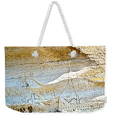 Petroglyphs At Petroglyph Point In Lava Beds Nmon-ca Weekender Tote Bag