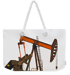 Petroleum Pumping Unit Weekender Tote Bag by Art Block Collections