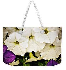 Petunias Weekender Tote Bag