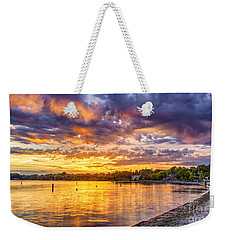 Pewaukee Orange Fury Weekender Tote Bag