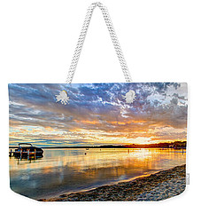 Pewaukee Vibrant Evening  Weekender Tote Bag