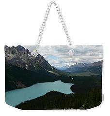 Peyote Lake In Banff Alberta Weekender Tote Bag