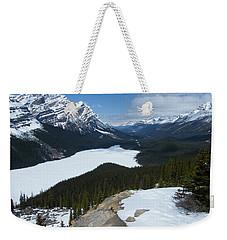Peyto Lake - Icefields Parkway - Canada Weekender Tote Bag