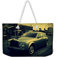 Weekender Tote Bag featuring the photograph Rolls Royce Phantom by Salman Ravish
