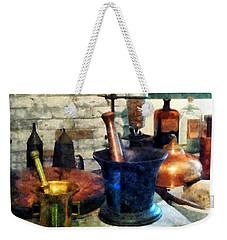 Pharmacist - Three Mortar And Pestles Weekender Tote Bag