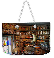 Pharmacy - Medicinal Chemistry Weekender Tote Bag by Mike Savad