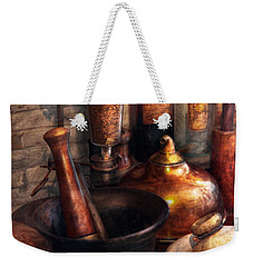 Pharmacy - Pestle - Pharmacology Weekender Tote Bag
