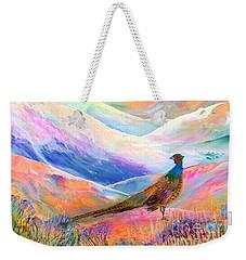 Pheasant Moon Weekender Tote Bag