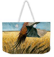 Pheasant Rising Weekender Tote Bag