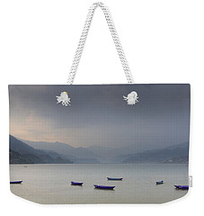 Phewa Lake In Pokhara Weekender Tote Bag