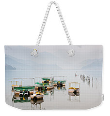 Phewa Lake In Pokhara Nepal Weekender Tote Bag