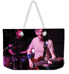 Weekender Tote Bag featuring the photograph Phil Lesh - Musician - Bass Player  -  Celebrities -  Grateful Dead by Susan Carella