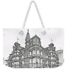 Philadelphia City Hall 1911 Weekender Tote Bag