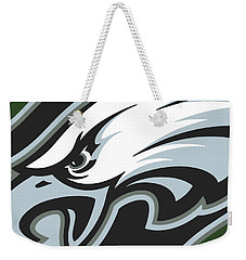 Philadelphia Eagles Football Weekender Tote Bag