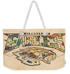 Philadelphia Eagles Poster Art Weekender Tote Bag