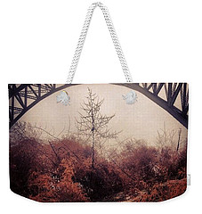 Philadelphia Foggy Day Weekender Tote Bag