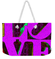 Philadelphia Love - Painterly V2 Weekender Tote Bag