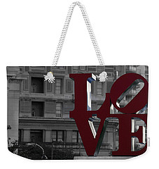 Philadelphia Love Weekender Tote Bag