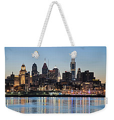 Philly Sunset Weekender Tote Bag