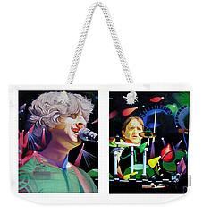 Phish Full Band Weekender Tote Bag by Joshua Morton