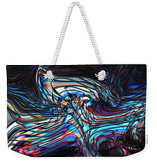 Weekender Tote Bag featuring the digital art Phoenix by Richard Thomas