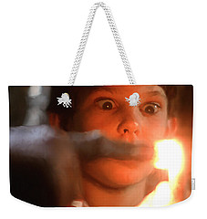 Phone Home Weekender Tote Bag