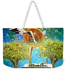 Phonograph Magic Weekender Tote Bag