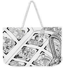 Weekender Tote Bag featuring the digital art Photo Album by Carol Jacobs