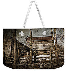 Country Barn Photograph Weekender Tote Bag